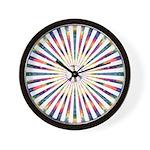 Hypnotic Peace Delight Wall Clock