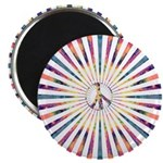 Hypnotic Peace Delight Magnets