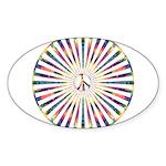 Hypnotic Peace Delight Sticker