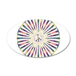 Hypnotic Peace Delight Wall Decal