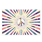 Hypnotic Peace Delight Postcards (Package of 8)