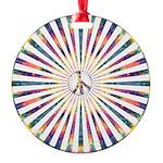 Hypnotic Peace Delight Ornament
