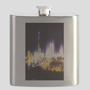 Electric Atlantic City Flask