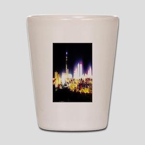 Electric Atlantic City Shot Glass
