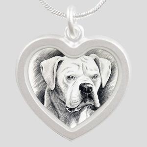 Beautiful White Boxer Necklaces