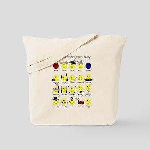 Michigan Smiley Tote Bag