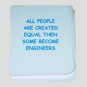 engineer baby blanket