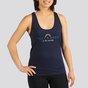 Troy & Abed in the Morning Racerback Tank Top
