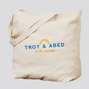 Troy & Abed in the Morning Tote Bag
