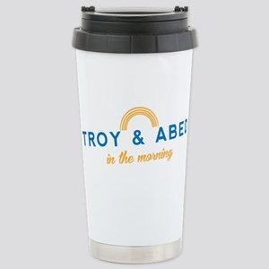 Troy & Abed in the Morn Stainless Steel Travel Mug