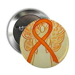 Orange Ribbon Angel 2.25