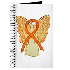 Orange Ribbon Angel Journal