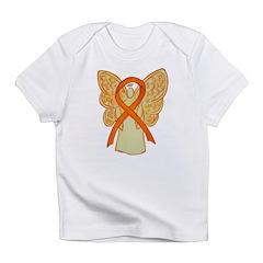 Orange Ribbon Angel Infant T-Shirt