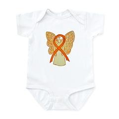 Orange Ribbon Angel Body Suit