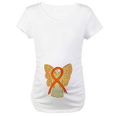 Orange Ribbon Angel Shirt