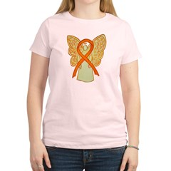 Orange Ribbon Angel T-Shirt