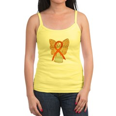 Orange Ribbon Angel Tank Top