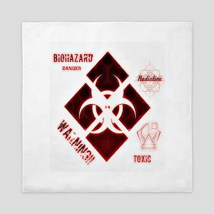 Biohazard Red Queen Duvet