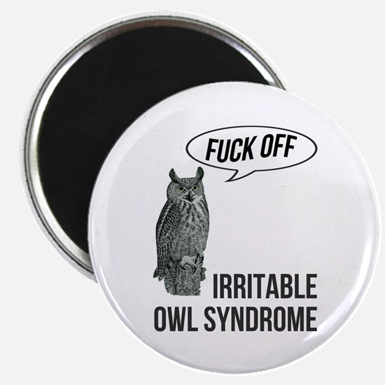Irritable Owl Syndrome Magnet