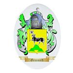 Grossard Ornament (Oval)