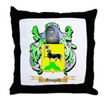 Grosgold Throw Pillow