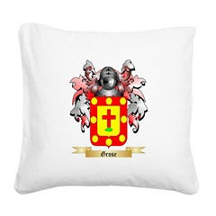 Grose Square Canvas Pillow