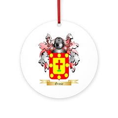 Grose Ornament (Round)