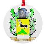 Grootmans Round Ornament