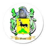 Groote Round Car Magnet