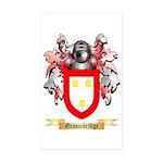 Groombridge Sticker (Rectangle 10 pk)