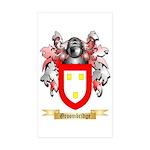 Groombridge Sticker (Rectangle 50 pk)