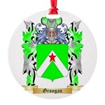 Groogan Round Ornament
