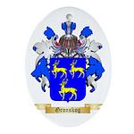 Gronskog Ornament (Oval)