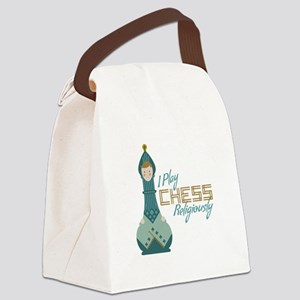 I Play Chess Canvas Lunch Bag