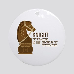 Knight Time Ornament (Round)