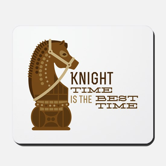 Knight Time Mousepad
