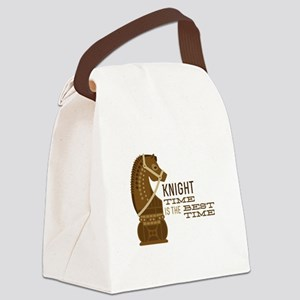 Knight Time Canvas Lunch Bag