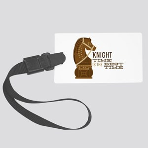 Knight Time Luggage Tag