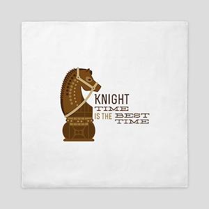 Knight Time Queen Duvet