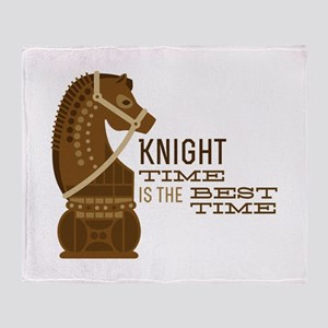 Knight Time Throw Blanket