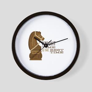 Knight Time Wall Clock