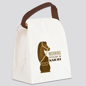 Morning & Knight Canvas Lunch Bag