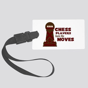 Chess Players Luggage Tag
