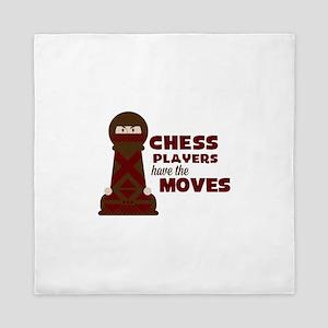 Chess Players Queen Duvet