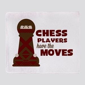 Chess Players Throw Blanket
