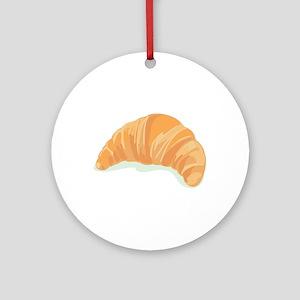 Croissant Ornament (Round)