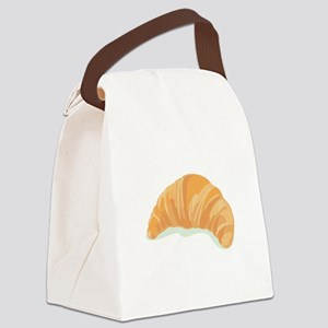 Croissant Canvas Lunch Bag