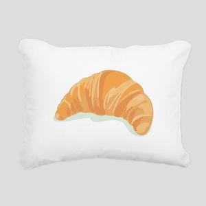 Croissant Rectangular Canvas Pillow