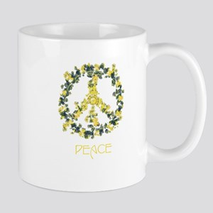 Flower Peace Solarium Yellow Mug