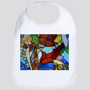 Alicia's Garden Window Wine Stopper Bib